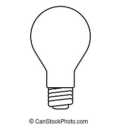 White Lightbulb Illustrations And Clipart 18737
