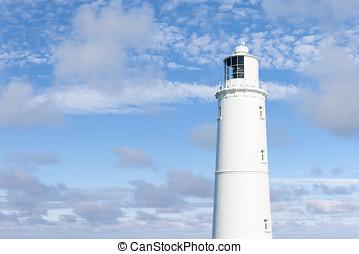White Lighthouse Landscape