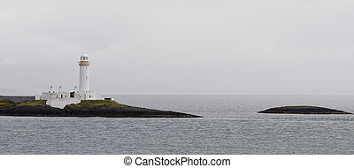 White Lighthouse, Oban Scotland
