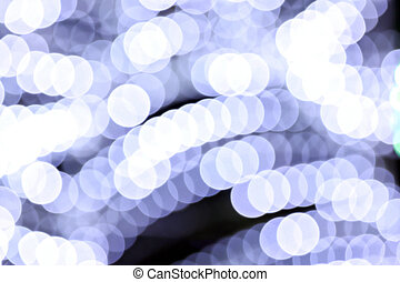 White lights blurry abstract background. - White lights...