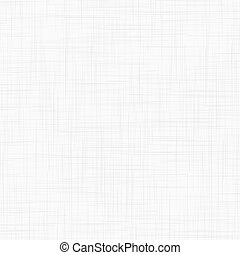 White linen seamless texture. EPS10 vector illustration