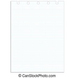 White lines paper school background