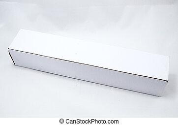 White Long Box
