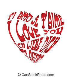 White love card