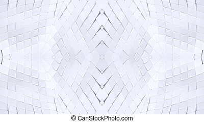 white low poly geometric abstract background as a moving...