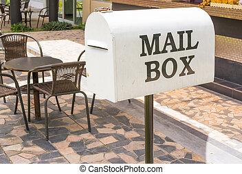 White Mail Box