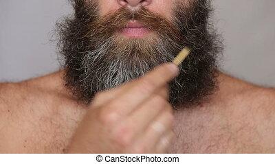 Lush Beard and Mustache