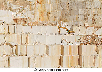 White marble quarry - Photo of white marble quarry in ...