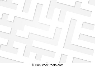 White Maze Concept Texture