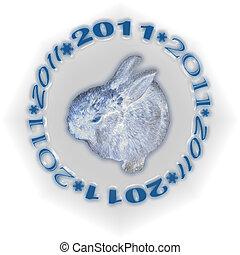 white metal rabbit 2011