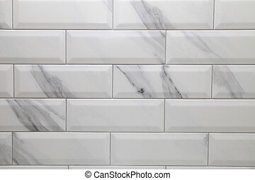 white metro ceramic tile background - white marble metro ...