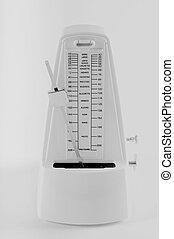 metronome on a white background