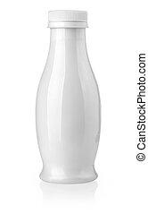 white milk bottle