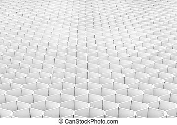 White Modern Interior Background. Abstract Building, pattern wall.