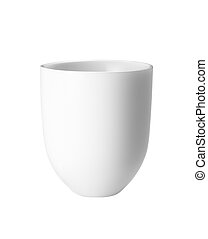 White mug empty blank for coffee