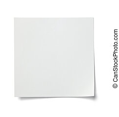 white note paper message label business - close up of a...