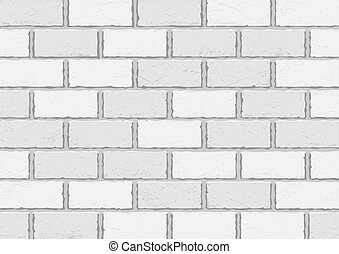 White old brick background