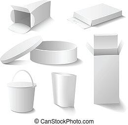 White pack set