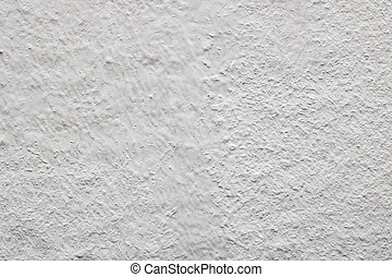 White paint on a wall, texture or background.