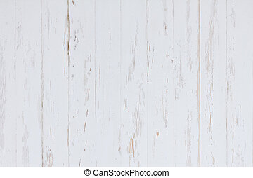 painted wood background - White painted wood background