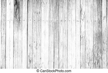 White painted wooden wall washed wood