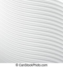 white paper 3d background with striped texture. vector illustration