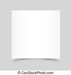 white paper card shadow