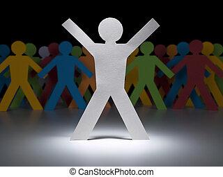 White paper figure