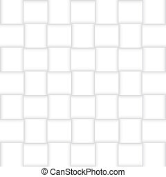 White paper lattice. Vector background