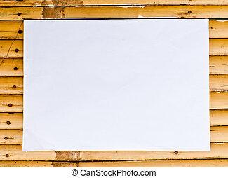 White paper on Bamboo cross