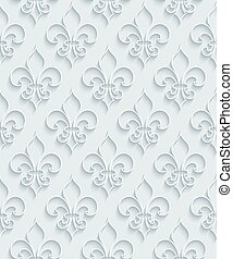 White paper seamless background. - White paper with outline...