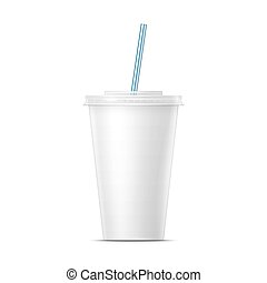 White paper soda cup template. - White paper cup template...