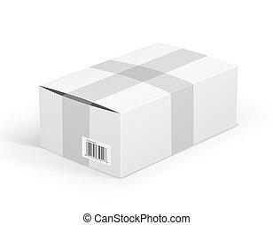 White parcel