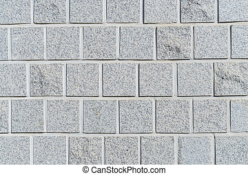 White pattern brick wall texture and background.