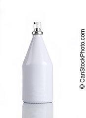 White Perfume Bottle for Mockups
