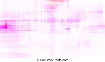 White pink and peach VJ loop shapes particles glitch looping...