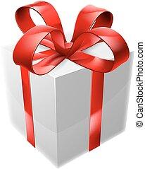 white piros, ajándék