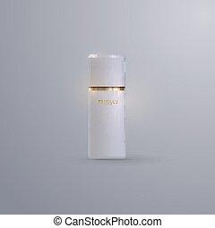 Cosmetics product mockup.