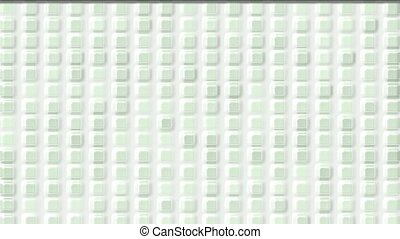 white plastic square & block brick matrix wall,like cream...