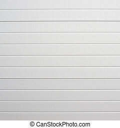 White plastic wall sheathing cover fragment as abstract...