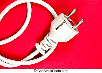 white Plug