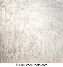 white polished cement
