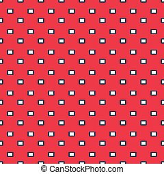 white polygons on a pink background seamless geometric pattern