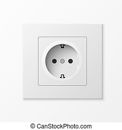 White power socket