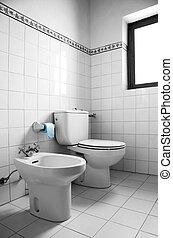 White Restroom