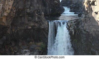 White River Falls in Oregon