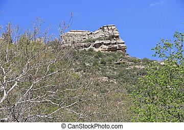 White Rock Formation in Sedona Arizona