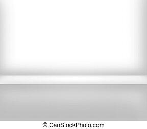 White Room Interior Background