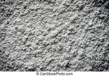 white rough concrete wall
