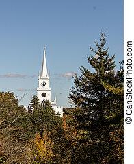 white rural church